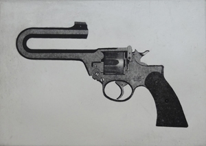 "Eric Goldberg, ""Second Amendment Special"", Etching, PA."