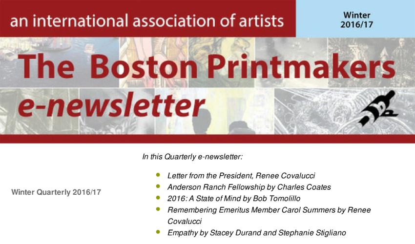 PDF-Quarterly e-Newsletter Winter 2016/17